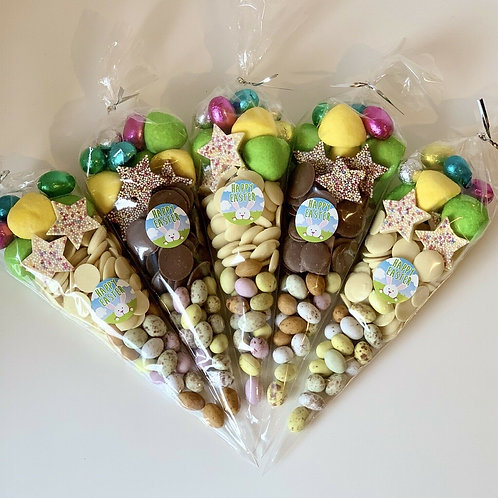 Easter Sweet Cone - white/dark chocolate