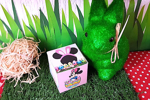 Minnie Mouse Easter Sweet box – filled