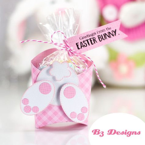 Easter Bunny Tail sweet treat box   - filled