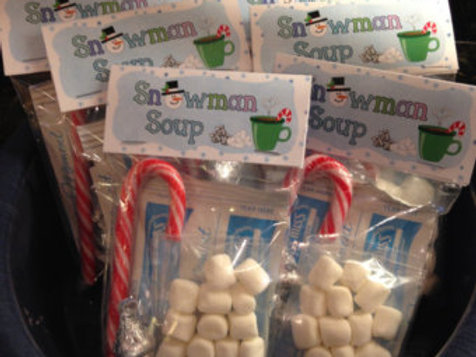 Snowman soup - stocking filler / Christmas eve box