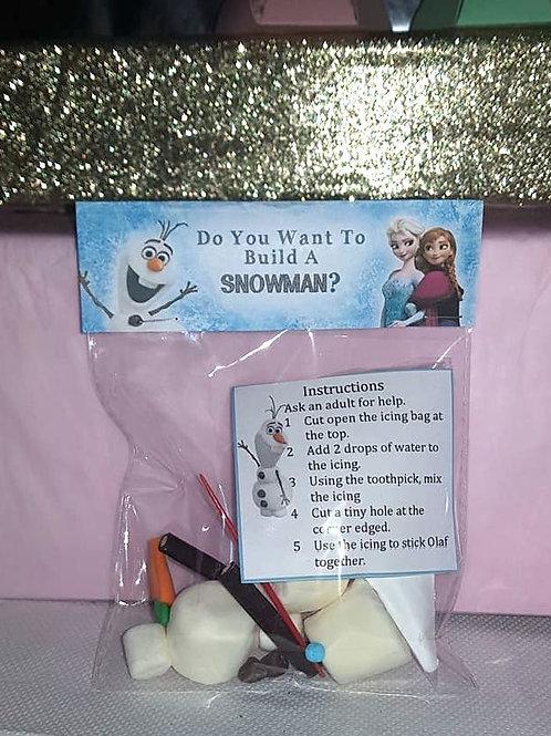 Disney Frozen  Olaf - Do you want to build a snowman? Treat Bag
