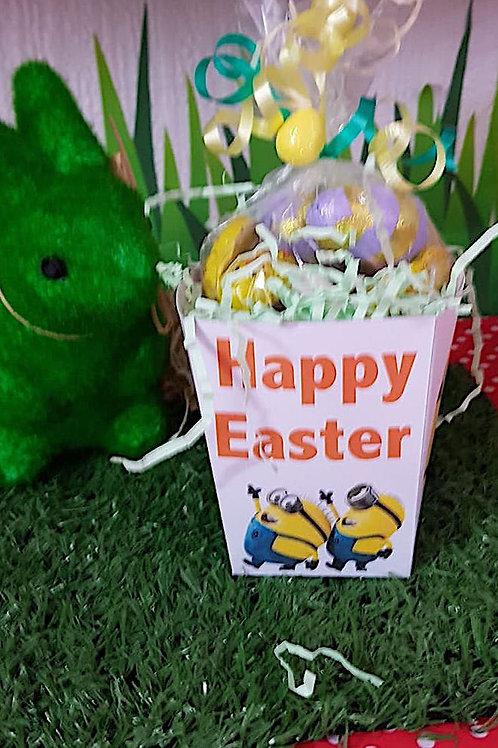 Minions Themed Easter Sweet box – filled