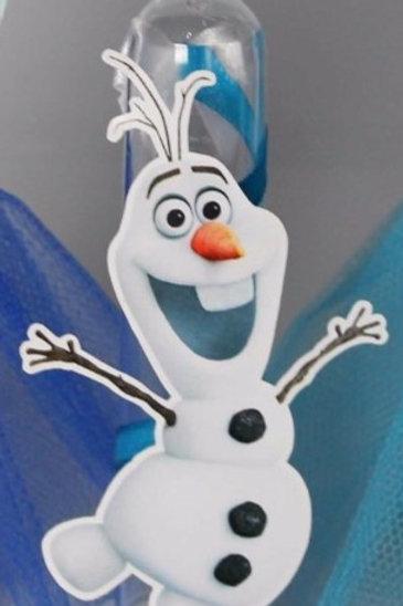 Disney Frozen Olaf 40ml plastic Test tube sweet favor