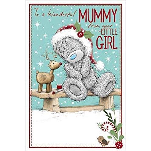 For Her~Personalised Tatty Teddy 100g milk chocolate bar