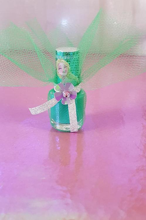Disney Frozen Elsa Delux nail polish - colour shimmer green