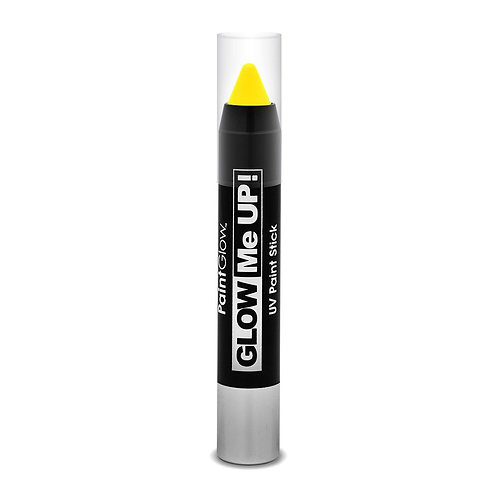 PaintGlow UV Neon Face & Body Paint Stick - YELLOW