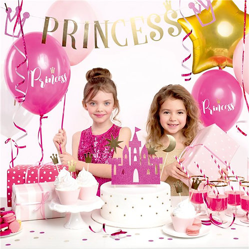 Princess Decoration party box  - 30 piece full set