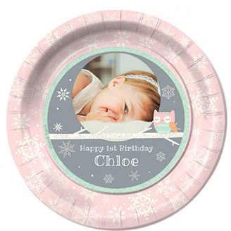 personalised party plates