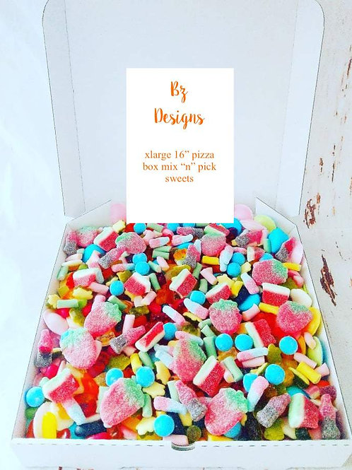 Family Share X-LARGE GIANT Pick 'n' Mix Sweet Box
