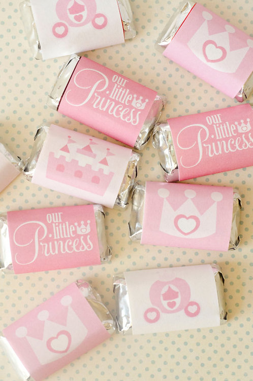 Pack 15 bite size Princess chocolates