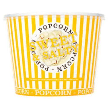 Sweet & Salty popcorn tub ~ large