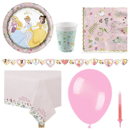 Disney True Princess Party Pack - Delux Pack For 8