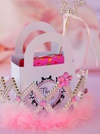 princess crown party bag