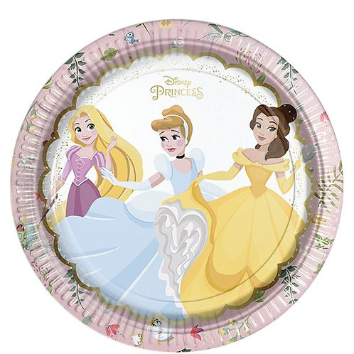 Disney True Princess paper plates – regular 23cm