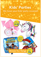 kids party ad
