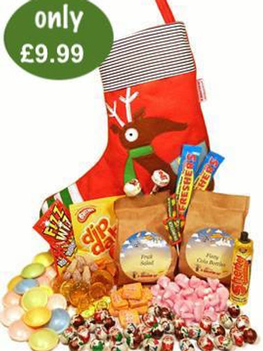 Pre-Filled stocking + sweets + chocolates + biscuits