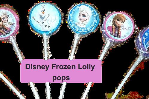 Disney Frozen Swirl lolly pops - 6 pack