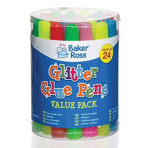 Glitter Glue Pens 24 Pack