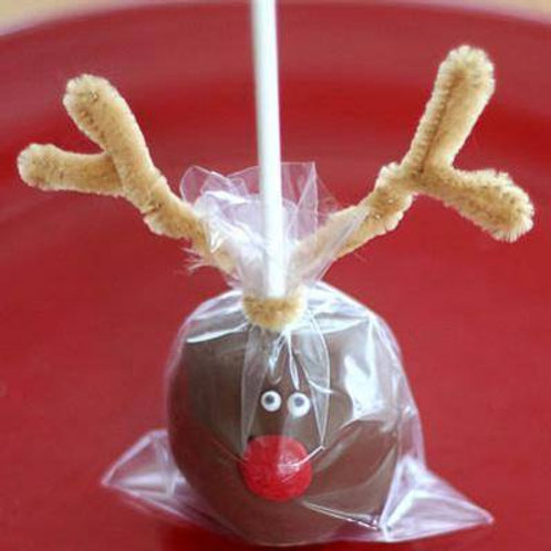 Reinder milk chocolate apple