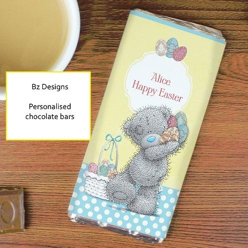 Personalised Tatty Teddy Galaxy Chocolate Bar