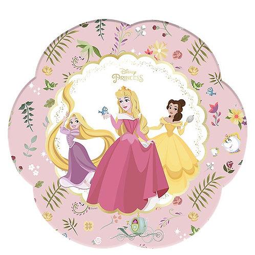 Disney True Princess flower shaped plates – large 26cm