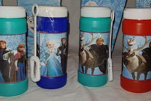 Disney Frozen themed bubbles