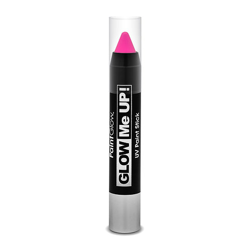 PaintGlow UV Neon Face & Body Paint Stick – PINK