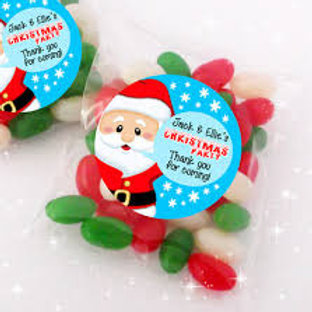 Personalised Santa sweet treats - adorable for any boy or girl