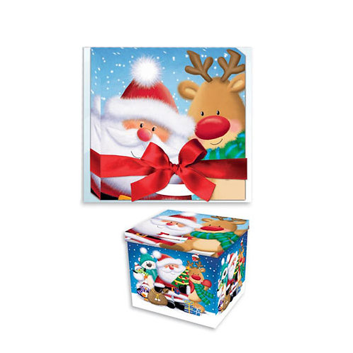 Santa Christmas  Eve Party Box