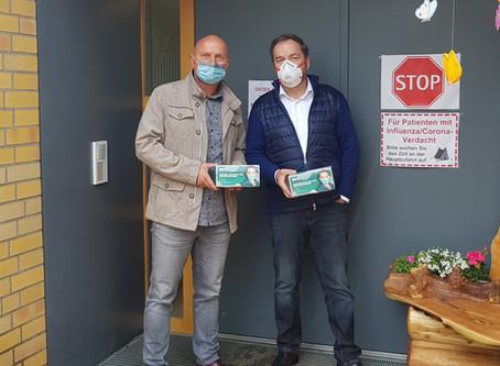 Donation for the retirement home in Treuenbrietzen