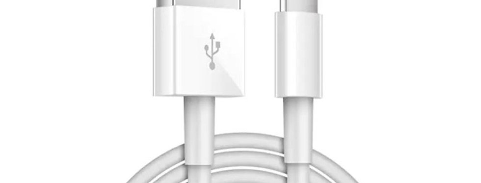 Lightning to USB Charging Cable + Free Gift (Cable Protector) - Mobile Phone.