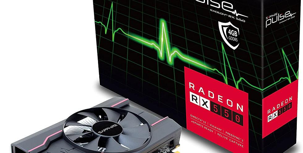 Vga Card Sapphire Pulse Rx550 4gb Ddr5