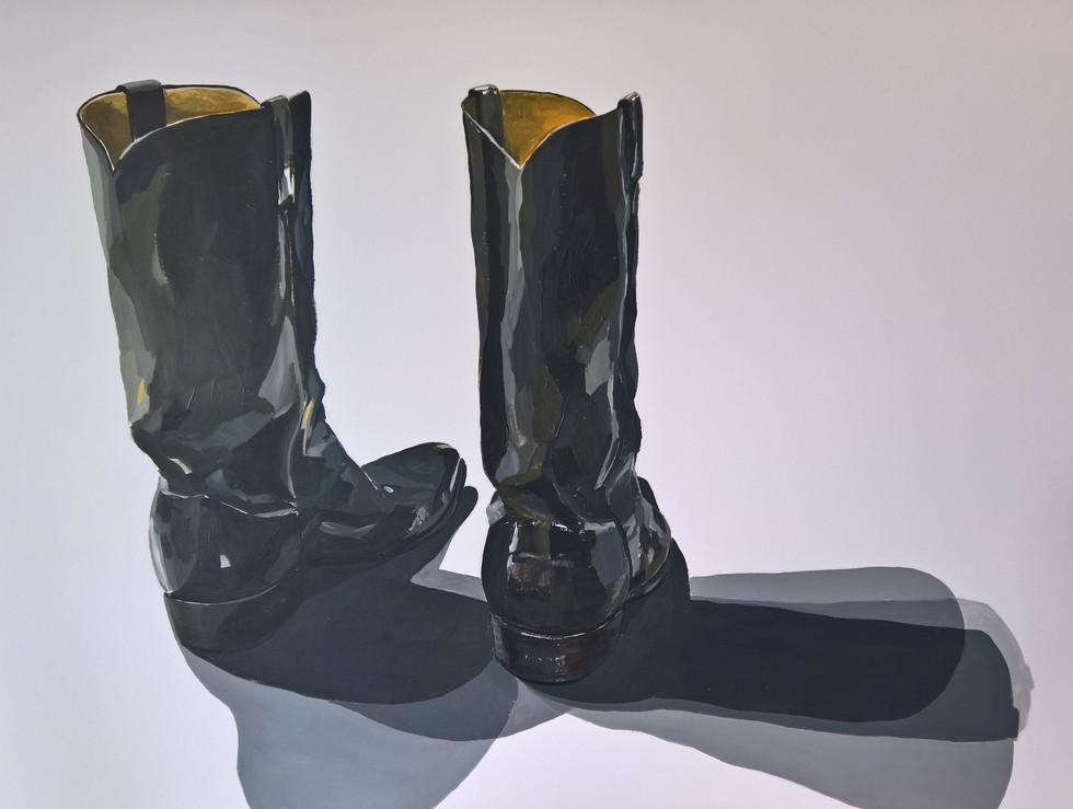 Idols of the West No 8_2018_acrylic on p