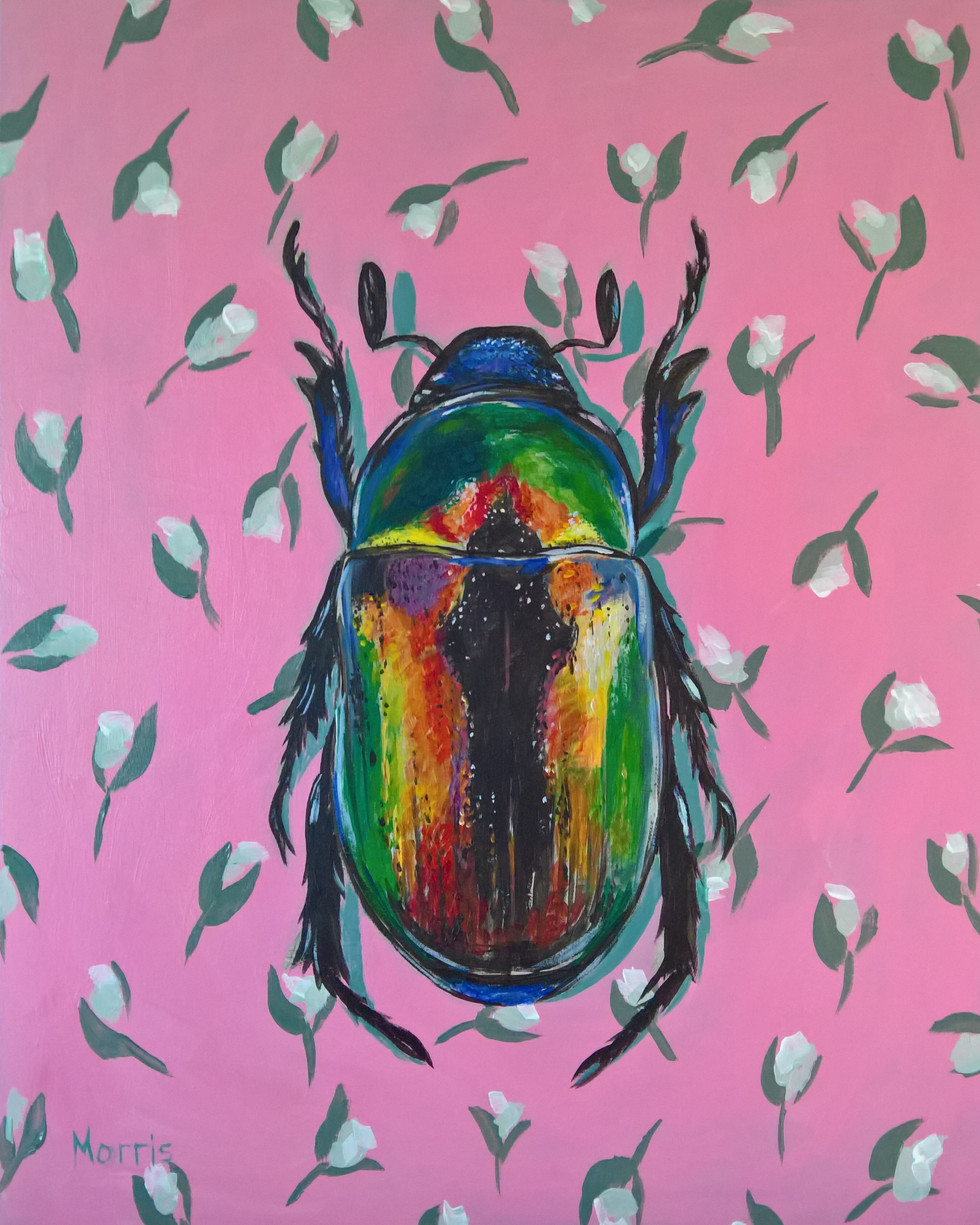 Iradescent Beetle