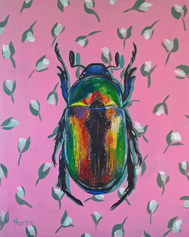 Iradescent Beetle