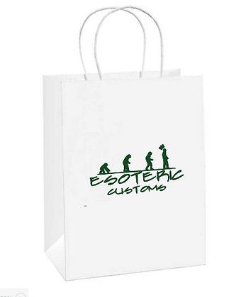 Use Your Own Logo Gift Bag Package