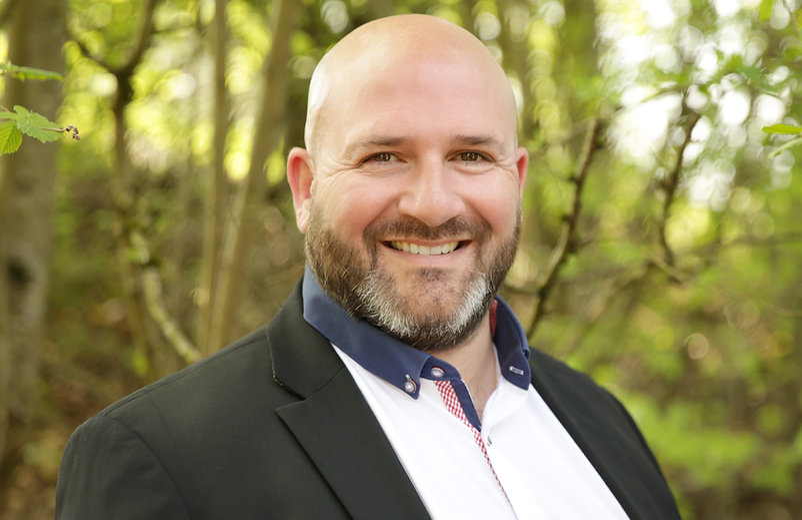 Damien Faber, gérant de Kairos Conciergerie à Clermont-Ferrand