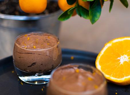 Mousse au chocolat à l'orange