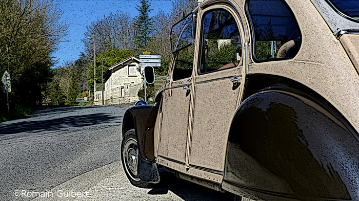 Deux Chevaux Citroën