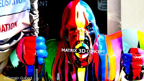 Matrix 3D Concept