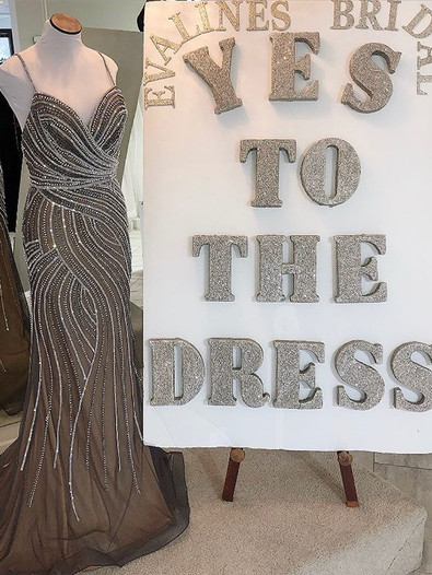 Beautiful Sparkle on this Grey Prom Dress