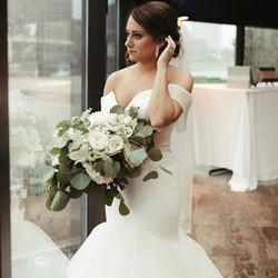 Evalines bride Caroline