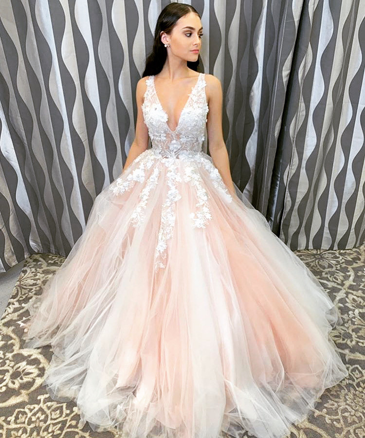 Floral Prom Ballgown
