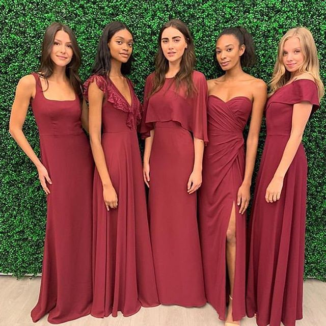 Hayley Paige Occasions bridesmaids dresses!