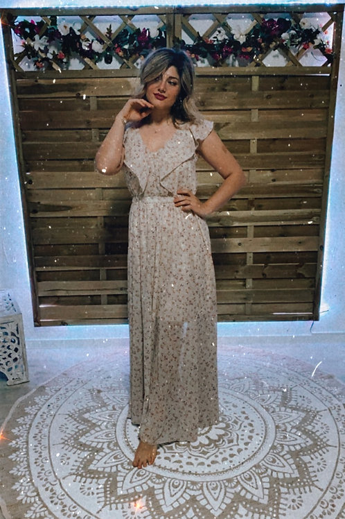 Longue robe fleur