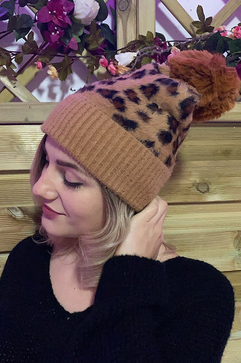 Bonnet léopard