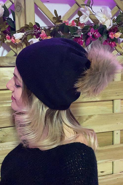 Bonnet pompon x