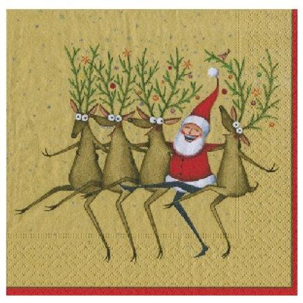 Guardanapos - Pai Natal