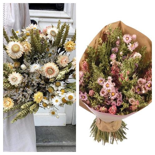 Surtido- ramo romântico branco / rosa