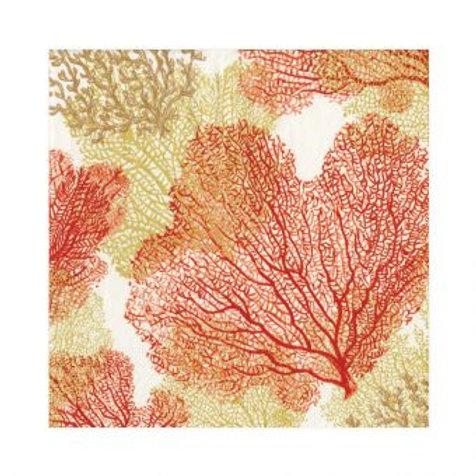 Guardanapos coral
